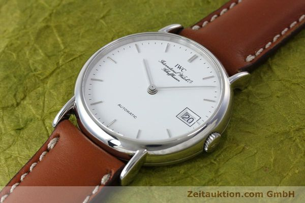 Used luxury watch IWC Portofino steel automatic Kal. 37521  | 152332 01