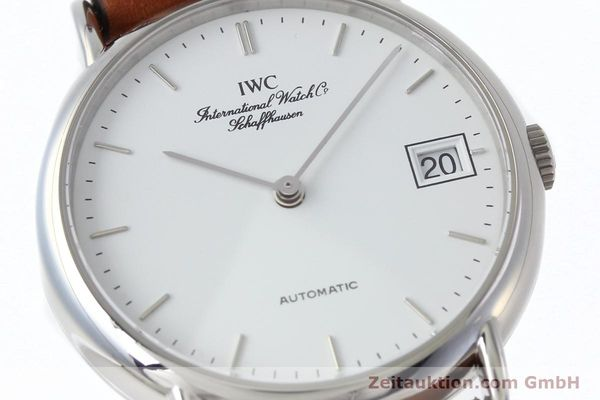 Used luxury watch IWC Portofino steel automatic Kal. 37521  | 152332 02