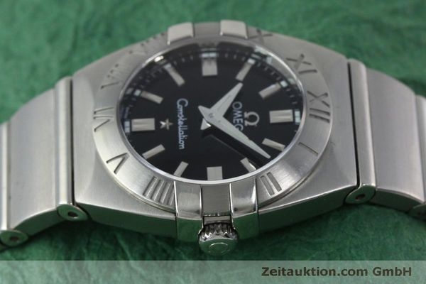 montre de luxe d occasion Omega Constellation acier quartz Kal. 1376  | 152334 05