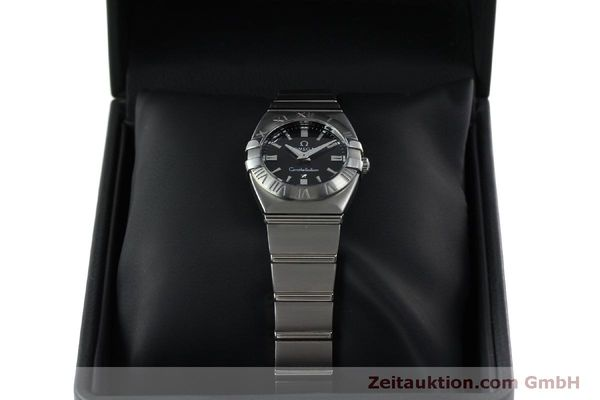montre de luxe d occasion Omega Constellation acier quartz Kal. 1376  | 152334 07
