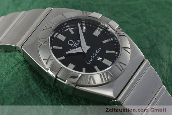 montre de luxe d occasion Omega Constellation acier quartz Kal. 1376  | 152334 14