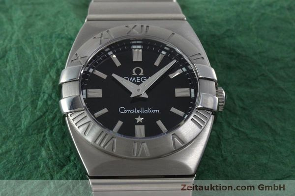 montre de luxe d occasion Omega Constellation acier quartz Kal. 1376  | 152334 15