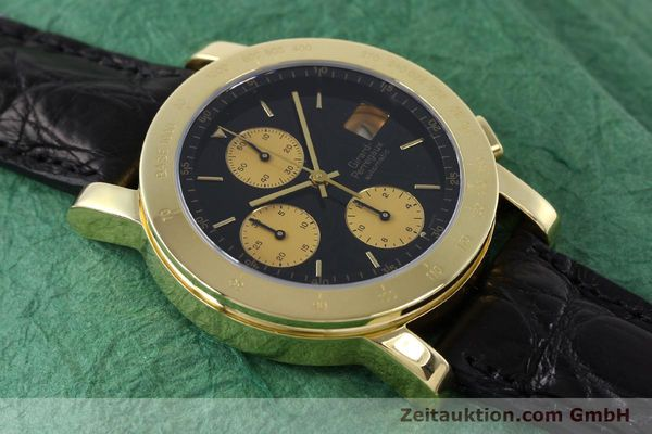 Used luxury watch Girard Perregaux 7000 chronograph 18 ct gold automatic Kal. 800-814 Ref. 7000GBM  | 152335 15