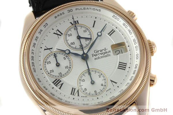 montre de luxe d occasion Girard Perregaux GP 4900 chronographe or 18 ct automatique Kal. 8000-464 Ref. 4900  | 152336 02
