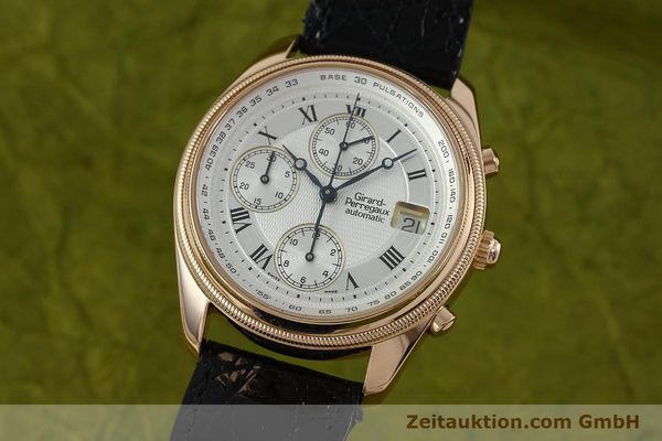 montre de luxe d occasion Girard Perregaux GP 4900 chronographe or 18 ct automatique Kal. 8000-464 Ref. 4900  | 152336 04