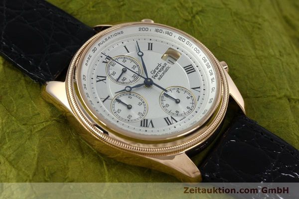 montre de luxe d occasion Girard Perregaux GP 4900 chronographe or 18 ct automatique Kal. 8000-464 Ref. 4900  | 152336 16