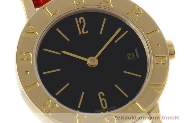 Used luxury watch Bvlgari Bvlgari 18 ct gold quartz Kal. ETA 956.112 Ref. BB26GL  | 152337 02