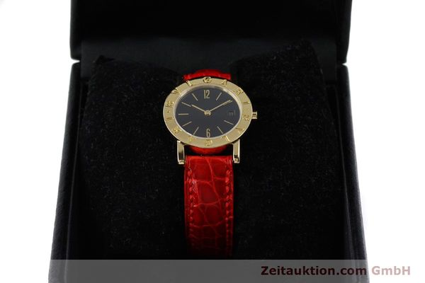 Used luxury watch Bvlgari Bvlgari 18 ct gold quartz Kal. ETA 956.112 Ref. BB26GL  | 152337 07