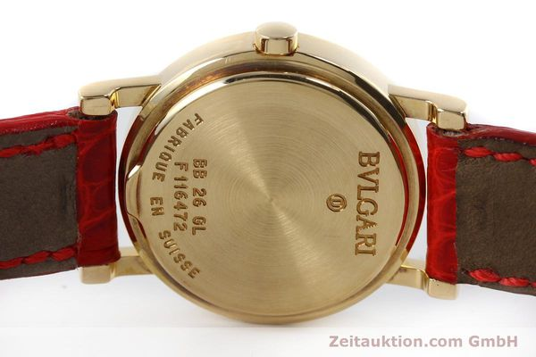Used luxury watch Bvlgari Bvlgari 18 ct gold quartz Kal. ETA 956.112 Ref. BB26GL  | 152337 09