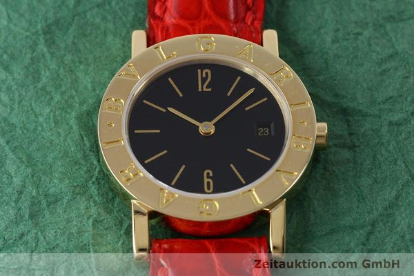 Used luxury watch Bvlgari Bvlgari 18 ct gold quartz Kal. ETA 956.112 Ref. BB26GL  | 152337 14