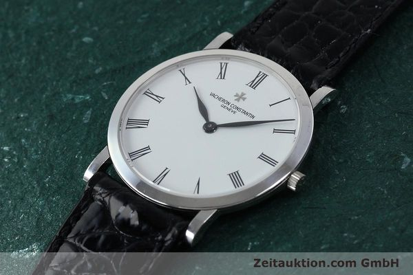 Used luxury watch Vacheron & Constantin * 18 ct white gold manual winding Kal. 1003/2 Ref. 33093  | 152338 01