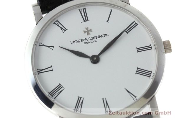 Used luxury watch Vacheron & Constantin * 18 ct white gold manual winding Kal. 1003/2 Ref. 33093  | 152338 02