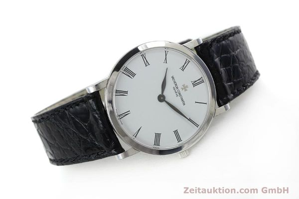 Used luxury watch Vacheron & Constantin * 18 ct white gold manual winding Kal. 1003/2 Ref. 33093  | 152338 03