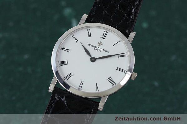 Used luxury watch Vacheron & Constantin * 18 ct white gold manual winding Kal. 1003/2 Ref. 33093  | 152338 04
