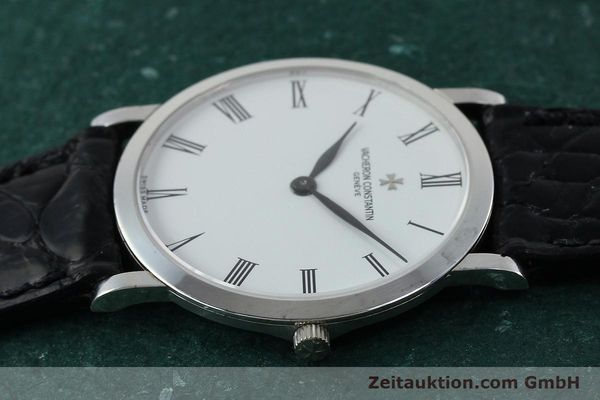 Used luxury watch Vacheron & Constantin * 18 ct white gold manual winding Kal. 1003/2 Ref. 33093  | 152338 05