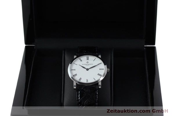 Used luxury watch Vacheron & Constantin * 18 ct white gold manual winding Kal. 1003/2 Ref. 33093  | 152338 07