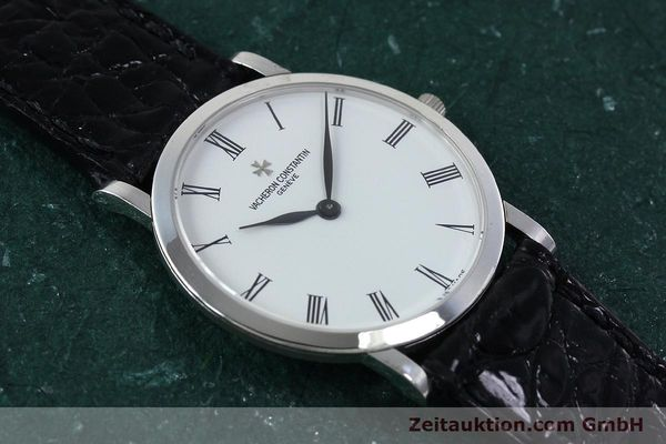 Used luxury watch Vacheron & Constantin * 18 ct white gold manual winding Kal. 1003/2 Ref. 33093  | 152338 15