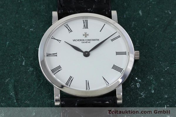 Used luxury watch Vacheron & Constantin * 18 ct white gold manual winding Kal. 1003/2 Ref. 33093  | 152338 16
