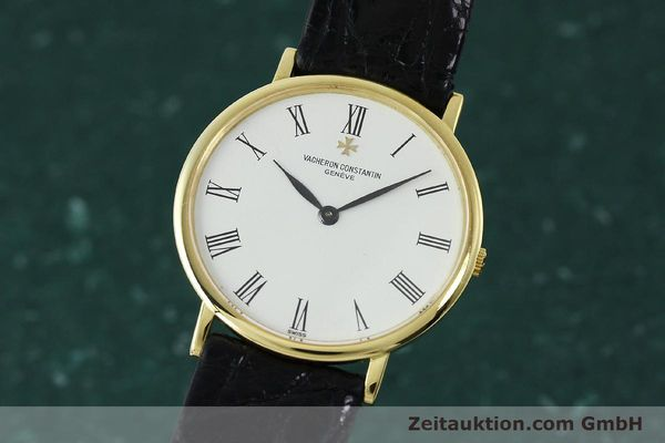 Used luxury watch Vacheron & Constantin * 18 ct gold manual winding Kal. 1003/1 Ref. 33051 VINTAGE  | 152339 04