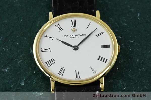 Used luxury watch Vacheron & Constantin * 18 ct gold manual winding Kal. 1003/1 Ref. 33051 VINTAGE  | 152339 16