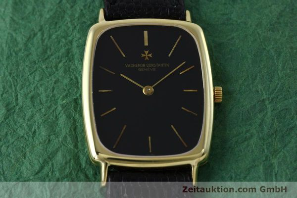 Used luxury watch Vacheron & Constantin * 18 ct gold manual winding Kal. 1003 Ref. 7590  | 152340 16