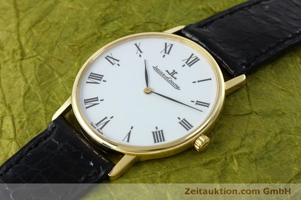 Used luxury watch Jaeger Le Coultre * 18 ct gold quartz Kal. 609 Ref. 111.1.09  | 152342 01