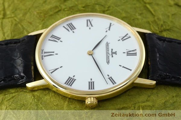 Used luxury watch Jaeger Le Coultre * 18 ct gold quartz Kal. 609 Ref. 111.1.09  | 152342 05