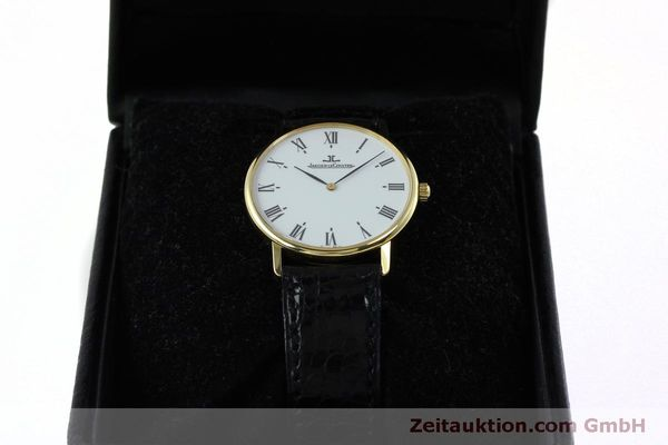 Used luxury watch Jaeger Le Coultre * 18 ct gold quartz Kal. 609 Ref. 111.1.09  | 152342 07