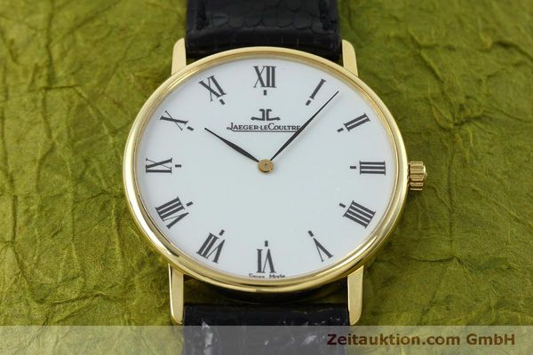 Used luxury watch Jaeger Le Coultre * 18 ct gold quartz Kal. 609 Ref. 111.1.09  | 152342 16