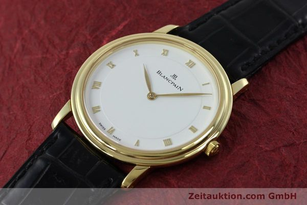 Used luxury watch Blancpain Villeret 18 ct gold manual winding Kal. 21  | 152343 01