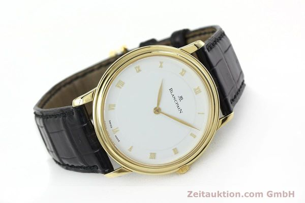 Used luxury watch Blancpain Villeret 18 ct gold manual winding Kal. 21  | 152343 03