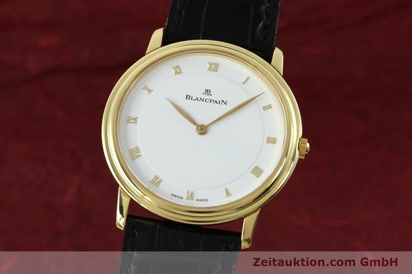 Used luxury watch Blancpain Villeret 18 ct gold manual winding Kal. 21  | 152343 04