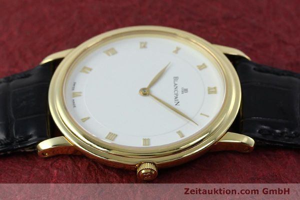 Used luxury watch Blancpain Villeret 18 ct gold manual winding Kal. 21  | 152343 05