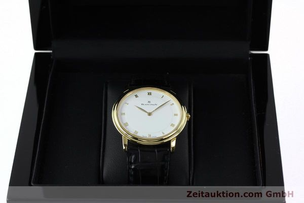 Used luxury watch Blancpain Villeret 18 ct gold manual winding Kal. 21  | 152343 07