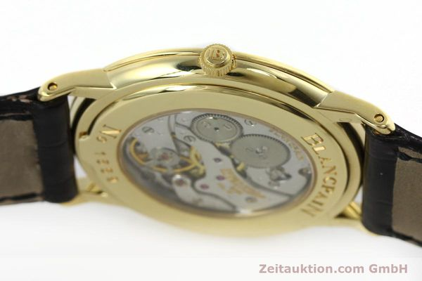 Used luxury watch Blancpain Villeret 18 ct gold manual winding Kal. 21  | 152343 08