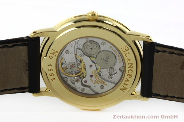 Used luxury watch Blancpain Villeret 18 ct gold manual winding Kal. 21  | 152343 09