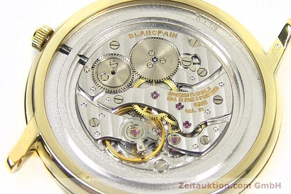 Used luxury watch Blancpain Villeret 18 ct gold manual winding Kal. 21  | 152343 10