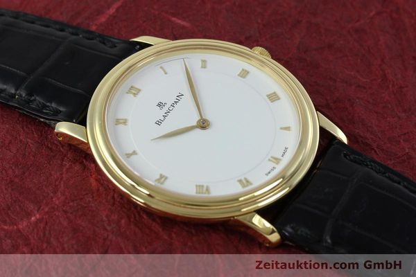 Used luxury watch Blancpain Villeret 18 ct gold manual winding Kal. 21  | 152343 15