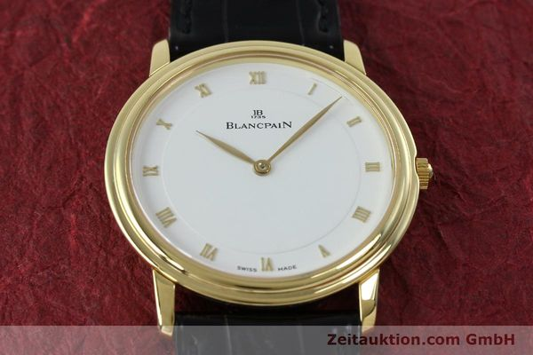 Used luxury watch Blancpain Villeret 18 ct gold manual winding Kal. 21  | 152343 16