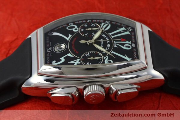 Used luxury watch Franck Muller Conquistador chronograph steel automatic Kal. 1185  | 152346 05