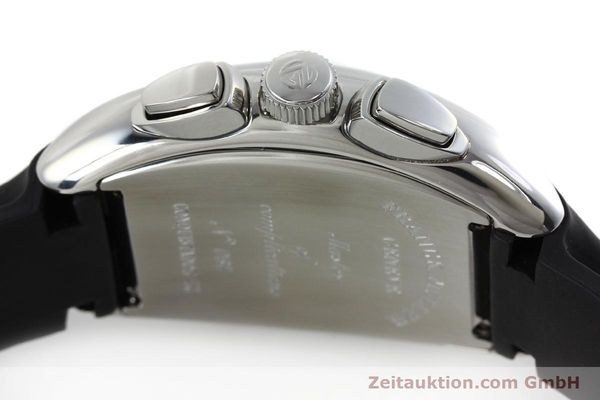 Used luxury watch Franck Muller Conquistador chronograph steel automatic Kal. 1185  | 152346 08