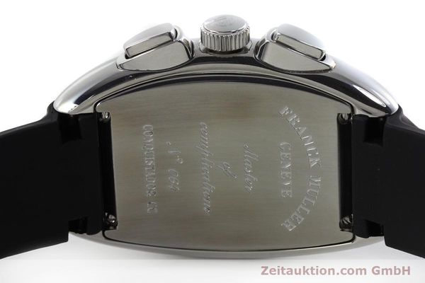 Used luxury watch Franck Muller Conquistador chronograph steel automatic Kal. 1185  | 152346 09