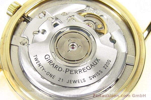 Used luxury watch Girard Perregaux * 18 ct gold automatic Kal. 2200 Ref. 4799.51  | 152347 11