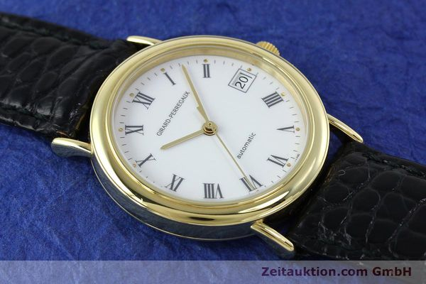 Used luxury watch Girard Perregaux * 18 ct gold automatic Kal. 2200 Ref. 4799.51  | 152347 15