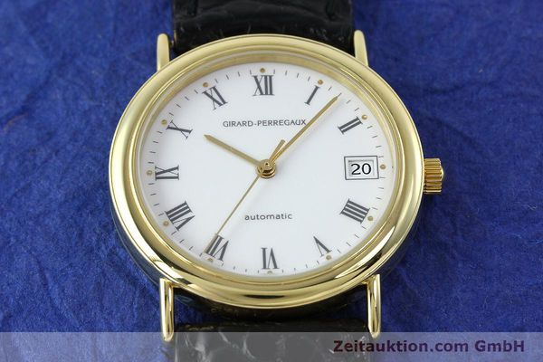Used luxury watch Girard Perregaux * 18 ct gold automatic Kal. 2200 Ref. 4799.51  | 152347 16