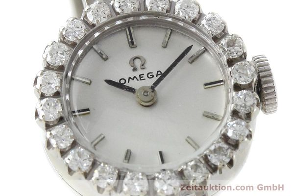 Used luxury watch Omega * 18 ct white gold manual winding Kal. 484 VINTAGE  | 152355 02