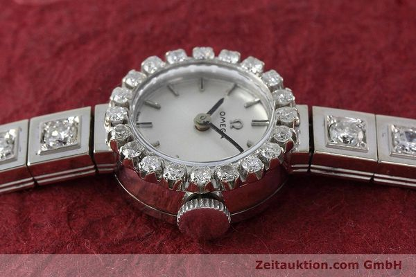 Used luxury watch Omega * 18 ct white gold manual winding Kal. 484 VINTAGE  | 152355 05