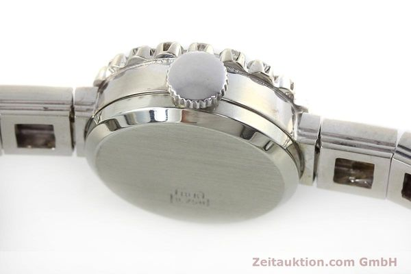 Used luxury watch Omega * 18 ct white gold manual winding Kal. 484 VINTAGE  | 152355 08