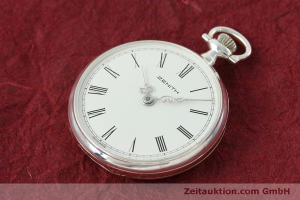 Used luxury watch Zenith Taschenuhr silver manual winding Kal. 2320  | 152356 01