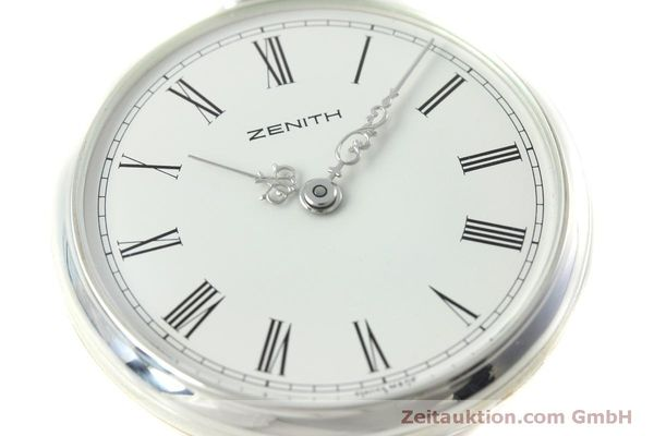 Used luxury watch Zenith Taschenuhr silver manual winding Kal. 2320  | 152356 02